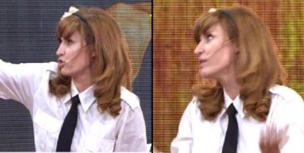 La sorpresiva aparición de Esther Goris en el canal del Grupo Clarín