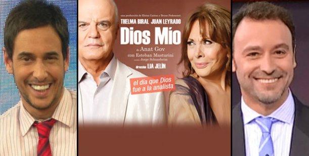 Thelma Biral y Juan Leyrado son un éxito con Dios mío: Dos potencias se saludan