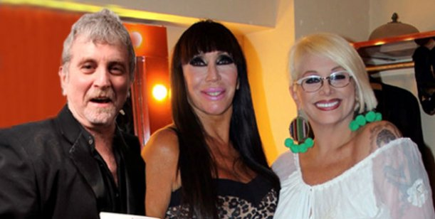 Carmen Barbieri, Moria Casán y Ricky Pashkus, el trío de Sor-presas