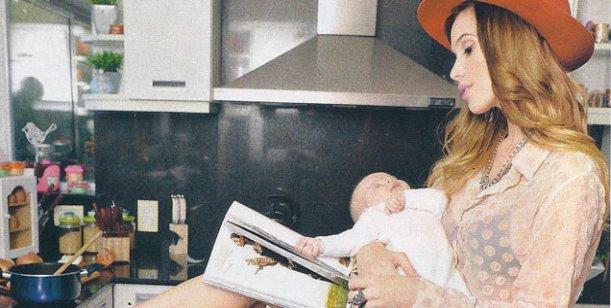 Chechu Bonelli y Darío Cvitanich presentaron a Lupe, su primera hija