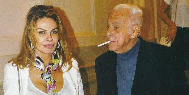 Gerardo Sofovich sale con la exmujer de Luciano Garbellano, Roxana Dib