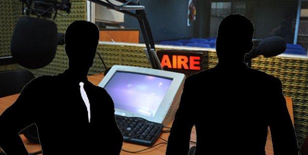 Dos hombres de radio en lucha de egos por el protagonismo fotográfico