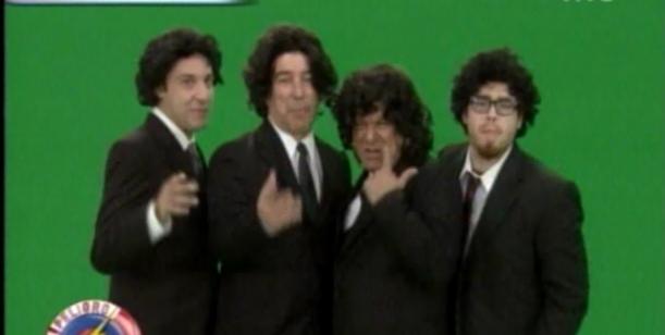 El Cuarteto de Closs, la parodia de Peligro, sin codificar: Yendo a la casa de Soldán