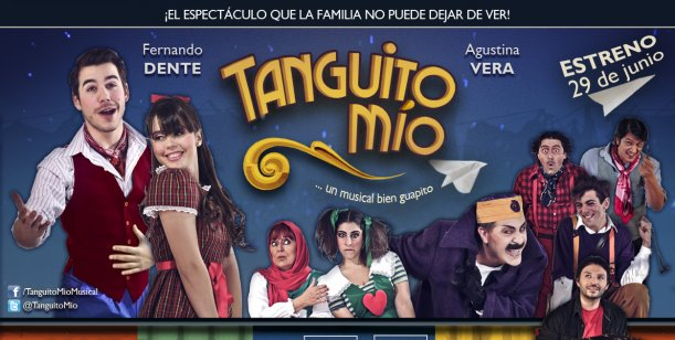 Fernando Dente estrena su espectáculo Tanguito mío para toda la familia