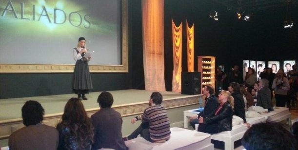 Cris Morena y Yankelevich lanzaron Aliados y homenajearon a Romina Yan