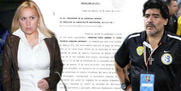 Maradona va por más: Ojeda no podrá mostrar ni nombrar a su hijo por un año