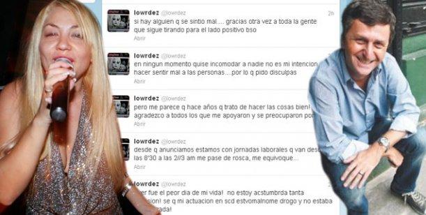 Después del escándalo con Korol, Lourdes, la ex Bandana, llora en Twitter