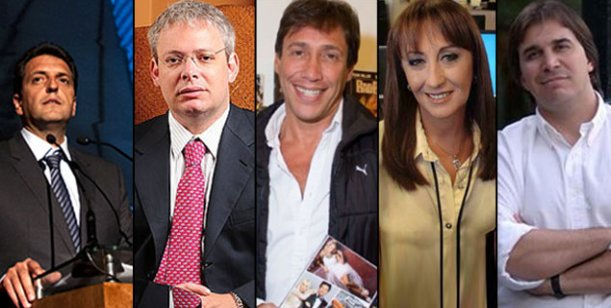 Famosos candidatos: Gianola, Tundis, Garfunkel y Faroni en la lista de Massa