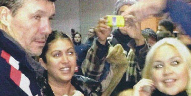Verónica Ojeda se encontró con Marcelo Tinelli: Él tiene ganas de conocer a mi hijo