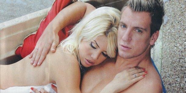 Más cholulos que nunca, Maxi López y Wanda Nara jugaron a casarse de nuevo