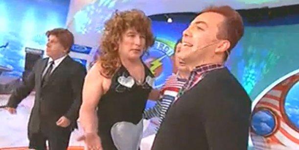 La parodia que incomodó a Cristian Castro en Peligro Sin Codificar