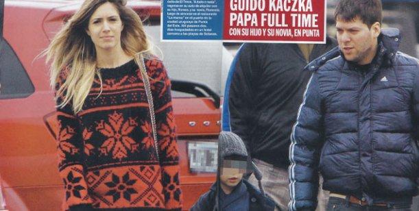 Lejos de Florencia Bertotti, su hijo pasea de la mano con la novia de Guido Kaczka