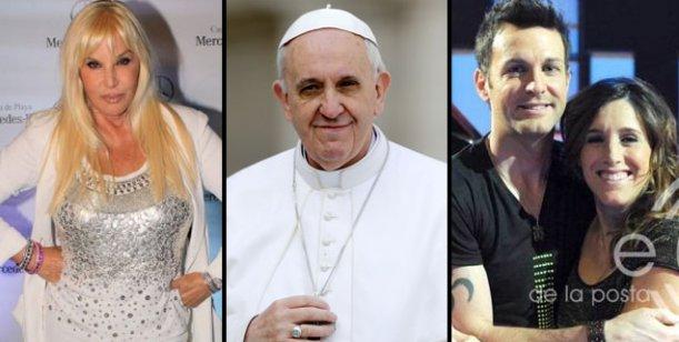 Todos quieren al Papa: Axel y la Sole le cantan y Susana va por una entrevista