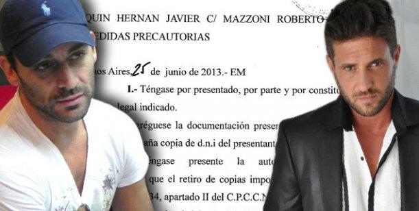La justicia falló a favor a de Hernán Piquín y su ex novio no podrá acercarse a él