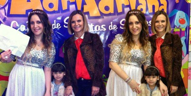 El emotivo encuentro de la hija de Amalia Granata con Adriana