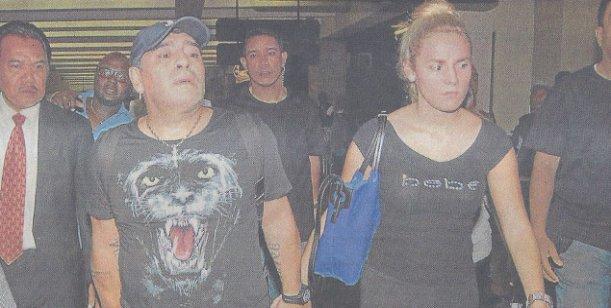 Diego Maradona y Rocío Oliva aparecieron juntos luego de los escándalos