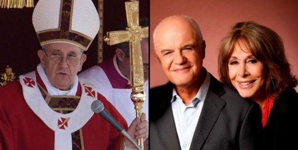 El Papa Francisco será espectador de lujo de Dios mio, la obra de Biral y Leyrado