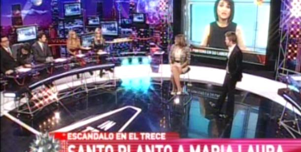 Santo vs María Laura: la primicia de RatingCero que da vueltas por toda la tv