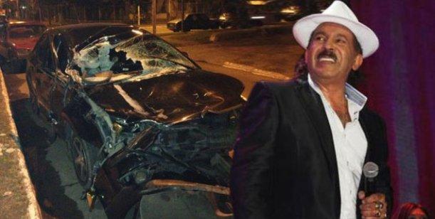 Antonio Ríos chocó con su auto: Venía del cumple de uno de mis quince hijos