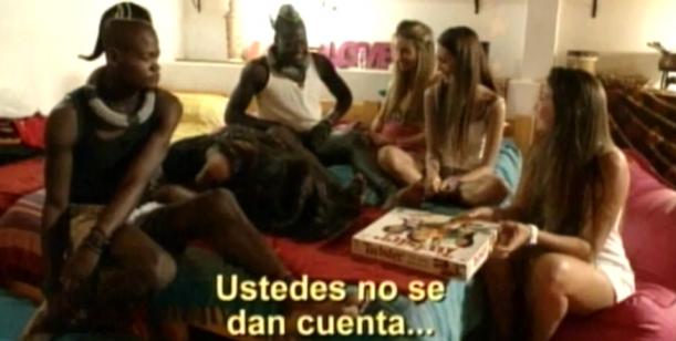 Perdidos en la ciudad: las chicas Villoslada hicieron un pijama party con los Himba