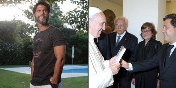 El Papa Francisco recibió el libro que escribió Federico Ribero