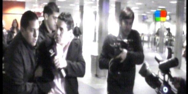 Las imágenes y el testimonio del periodista agredido en los incidentes de Ezeiza