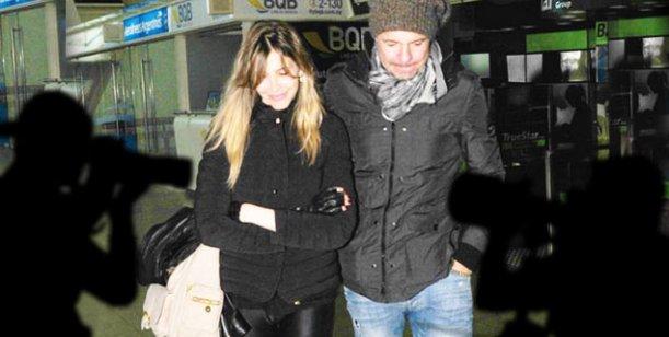 Tinelli y Guillermina preparan su viaje a Miami con un ejercito de periodistas