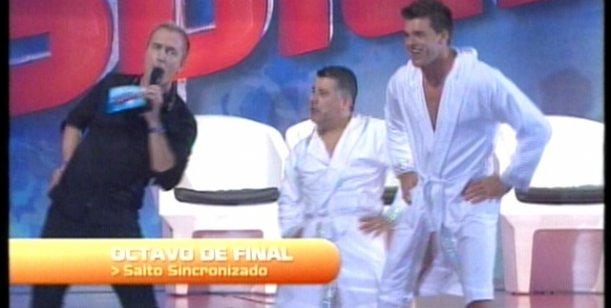 Celebrity Splash: el show de Pichu Straneo y Leandro Penna