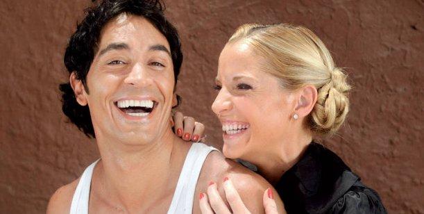 Carina Zampini y Sebastián Estevanez calientan motores para volver a la tv