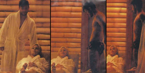 La apasionada luna de miel del Kun Agüero y Karinaen Villa la Angostura