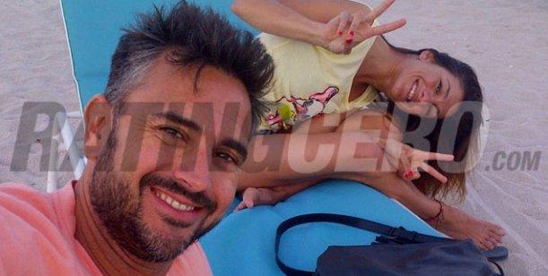 El álbum íntimo de las románticas vacaciones de Leo Montero y Malu, su mujer