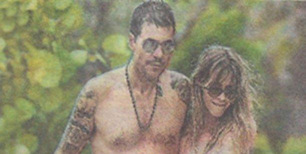 El viaje romántico de Guillermina Valdes y Marcelo Tinelli en las playas de Miami