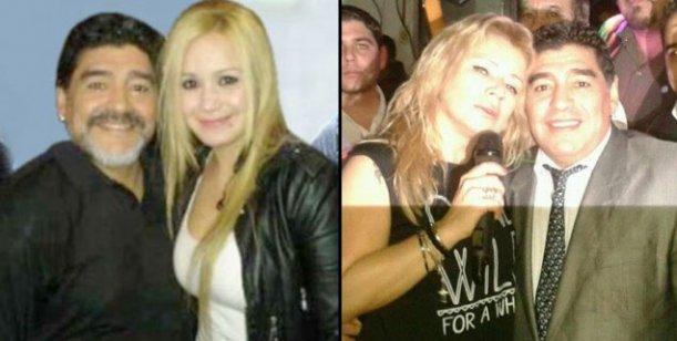 Cantantes de cumbia, la obsesión de Maradona: lejos de Karina, elige a Dalila