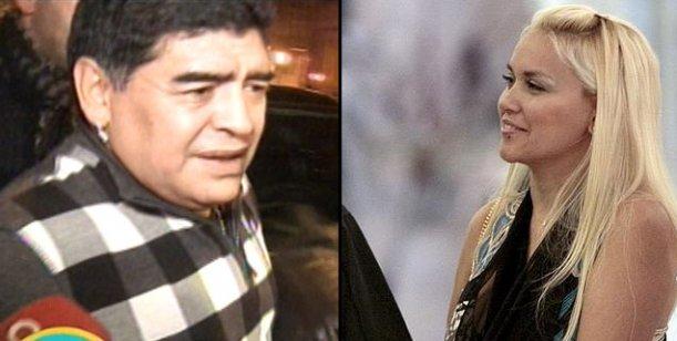 Verónica Ojeda denuncia que Maradona no le pasa alimentos y va por el juicio