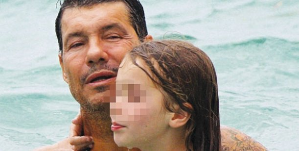 Tinelli se divierte con la hija de Sebastián Ortega
