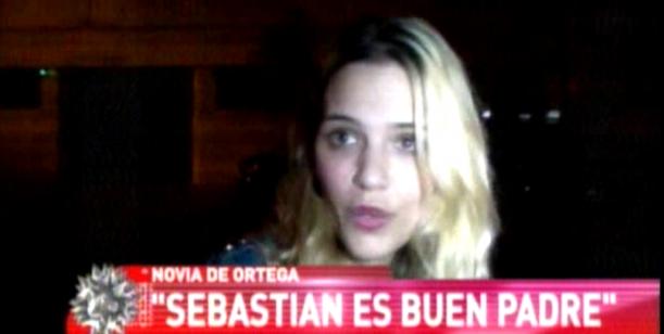 La pareja de Sebastián Ortega se mete en la pelea con Valdés: Él no es un mal padre