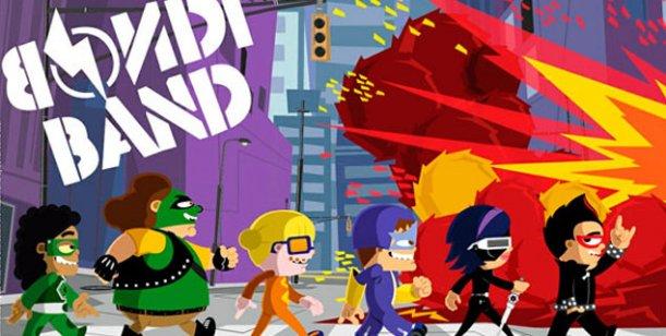Llegan los nuevos dibujos animados a Telefe: Bondi Band