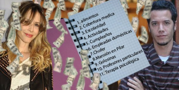 La lista del escándalo: todo lo que Ortega dice que le paga a sus hijos con Valdes