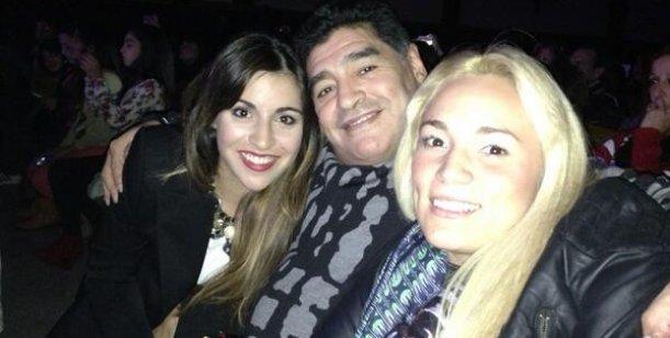 Rocío Oliva y Maradona juntos, lejos de los rumores de reconciliación con Ojeda