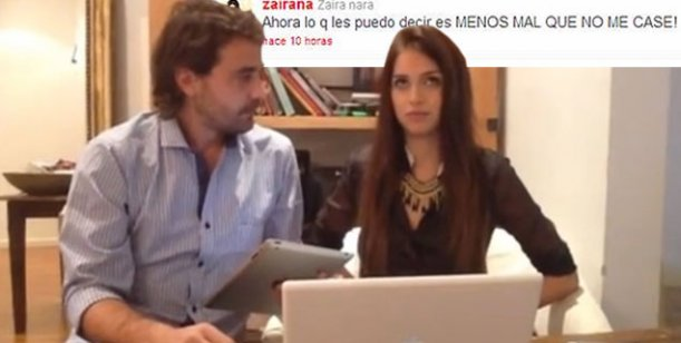 Zaira habló de su polémico tuit Menos mal que no me casé: No tomé conciencia