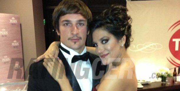 La noche de amor de Silvina Escudero y su nuevo novio productor en Montevideo