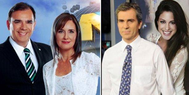 La competencia de la tarde del jueves: Telefe Noticias 6.7; Noticiero del Trece 5.6