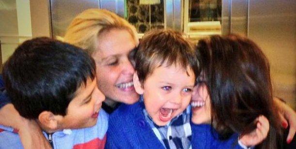 Nazarena Vélez festejó su cumpleaños en familia y lo compartió en Twitter
