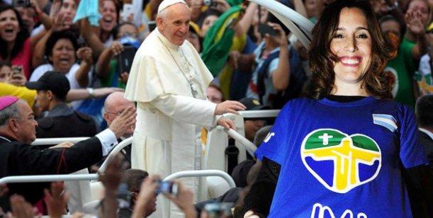 Cantarle al Papa es lo más importante que me ha pasado, dijo la Sole