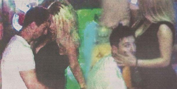 Messi en una foto con rubia buscona en Las Vegas; su pareja está en crisis