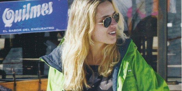 Mientras Valdes disfrutó de sus hijos en Miami, Ortega se fue a esquiar con su novia