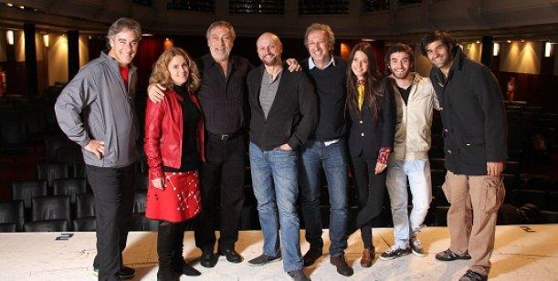 Campanella supera el millón en cine y estrena obra de teatro