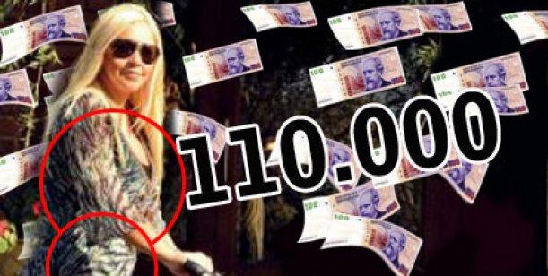 Operación reconquistar a Maradona: Ojeda gastará 110 mil pesos en estética