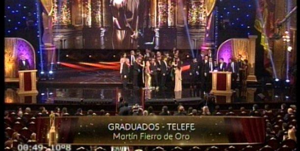 Graduados ganó el Martín Fierro de Oro; todos los ganadores