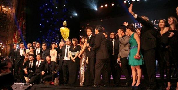 La intimidad de los premios: toda una noche en imágenes